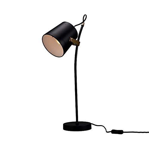 Lámpara Escritorio LED Lámpara de mesa ajustable Dormitorio Sala de estar Estudio Simple Creativa Lámpara de cabecera Escritorio...