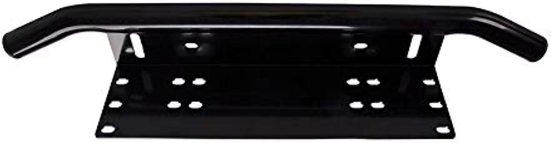 License Number Plate Frame Holder Light Bar Truck Vehicle Mount Front Bumper