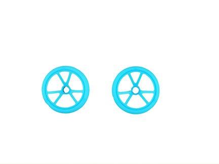 Fisher-Price Hot Wheels RC Sky Shock Vehículo – Ruedas Delanteras de Repuesto DNM65