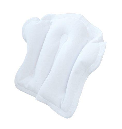 Homecraft Aufblasbare Badewanne Kissen, komfortables Bad Kissen für Kopf, Hals und Rücken, rutschfeste Saugfüße und Frottier-Abdeckung, Qualität Unterstützung, Badewanne mit Zubehör