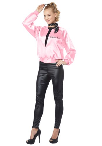 California Costumes Women's The Pink Satin Ladies Adult