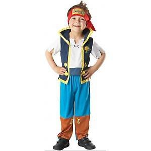 Con Diseño de Jake El Pirata Para Carnaval Disfraz Infantil de 92