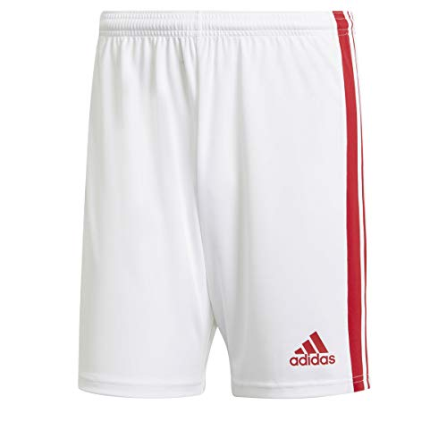 adidas Squad 21 SHO Sport Jacket, White/Team Power Red, S Men
