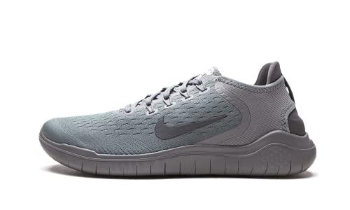 Nike Men's Free RN 2018 Running Shoe (10.5 US, Gunsmoke/Thunder Grey)