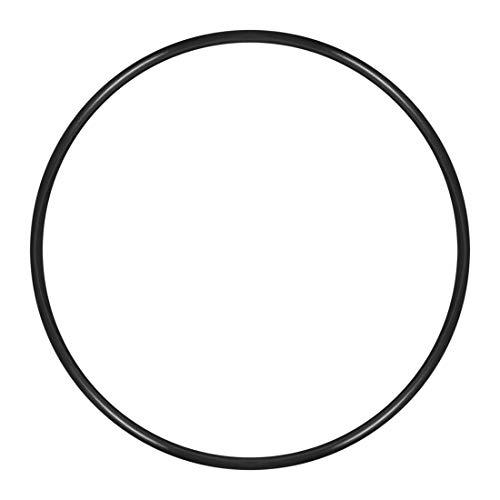 sourcing map O Ringe Kautschuk 158 mm Innen Durchmesser 165mm OD 3,5 mm Breite Runde Dichtung DE de