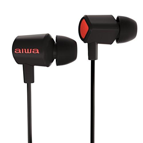Aiwa Prodigy-1 High-Fidelity Earphones - in-Ear Wired Earbuds ...