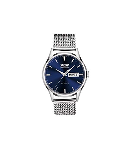Tissot Unisex-Uhren Analog Automatik One Size Edelstahl 87603865