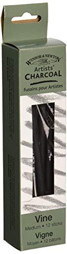 Winsor & Newton 7005166 Artist Vine Charcoal Sticks 12/Pkg