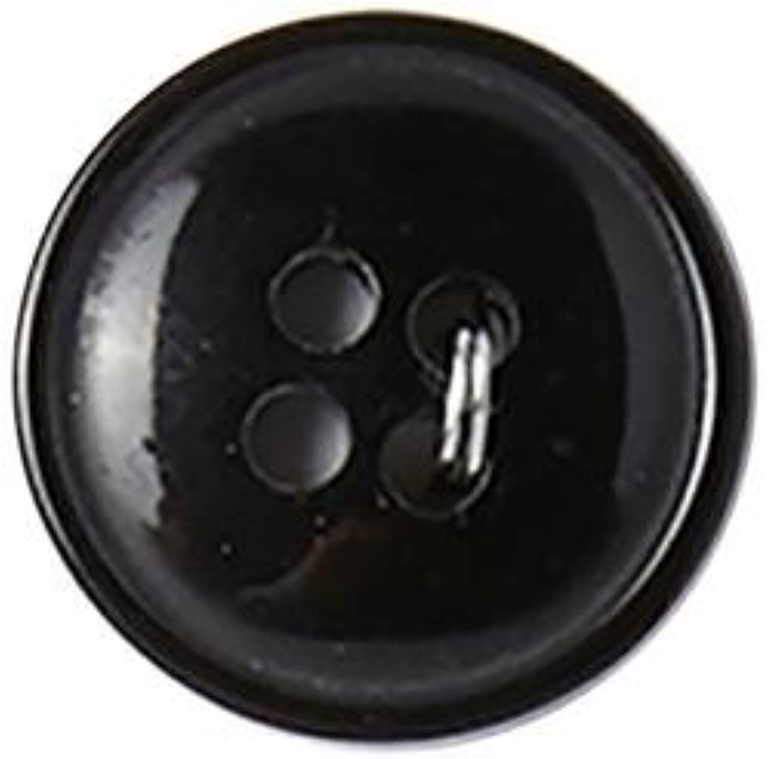Bulk Buy: Blumenthal Lansing Slimline Buttons Series 1-Black 4-Hole 5/8