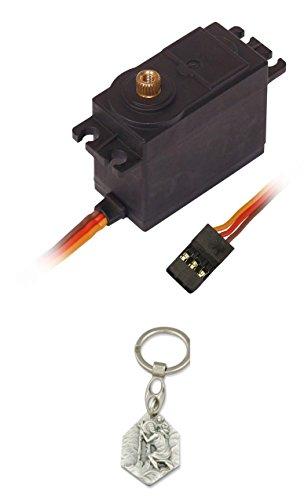 Sintr Servomotor Analog Metallgetriebe für RC-Modelle, Modellbau (902988206161) mit Anhänger Hlg. Christophorus
