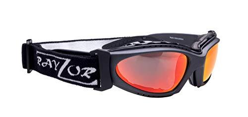 Rayzor Occhiali da sole leggeri per escursionismo, camminata, arrampicata, sport, antiriflesso, per uomini e donne, protezione UV400, con montatura infrangibile e lenti cat. 3 antiriflesso.