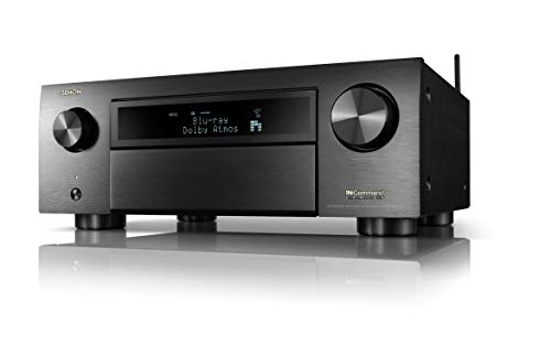 Denon AVR-X6700H 8K Ultra HD 11.2 Channel (140Watt X 11) AV Receiver 2020 Model - 3D Audio & Video with IMAX Enhanced, Built for Gaming, Music Streaming, Alexa + HEOS