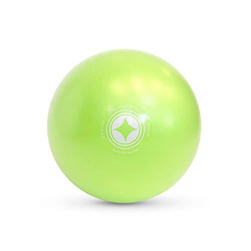 STOTT PILATES Mini Stability Ball (Lime), 10 Inch / 25 cm