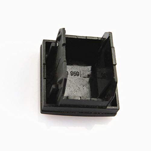 YuQiLin Coche Debajo del Centro de la Consola Central Cubierta Falsa de la Cubierta del botón Falso de Polvo a Prueba de Polvo Interruptor Decorativo/Ajuste para -VW Jetta 5 mk5 / 6 Golf mk6 /
