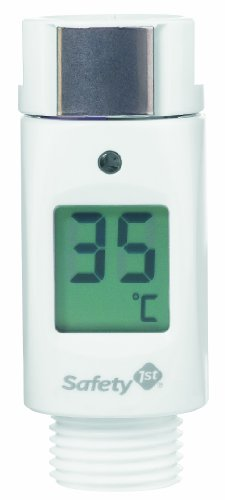 Safety 1st douchekop-thermometer met led-display en waarschuwingssignaal