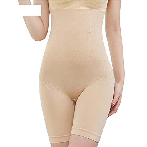 QJZUO Cuerpo de la Vientre Shapewear Modeling Modeling Straps Alto Cintura Pantalones Cortos Bragas Levantador de Tonos Cuerpo Formas de Cuerpo Mujeres adelgazando Ropa Interior