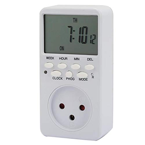 Jeanoko Timing Meter Schalter Calculagraph Schalter TM519 für Timing(Israel Plug)