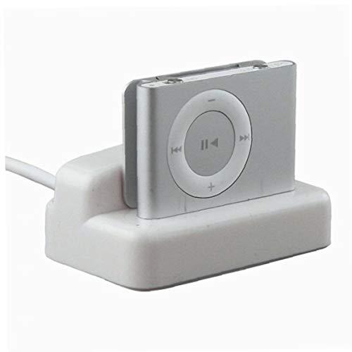 Romote Bargaincell USB Hotsync Ladestation Cradle Desktop-Ladegerät für Apple iPod Shuffle 2. Generation