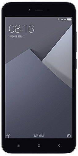 Xiaomi Redmi Note 5A Smartphone 4G 2GB 16GB Doble Sim, Con Google Play [Version Europea] Gris