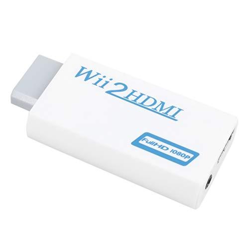 SODIALR Convertidor Wii HDMI Adaptador Convertidor