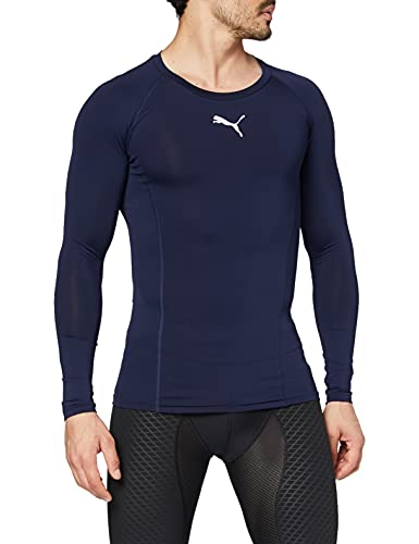 Puma Liga Baselayer T- T-Shirt Homme Bleu Marine 52/54