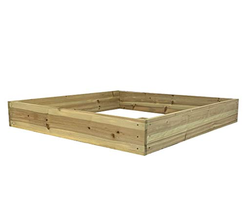 Selections Wooden Raised Garden Vegetable Bed (122cm x 18cm)
