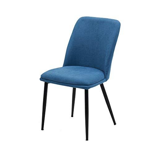 ダイニングチェア イームズチェア ファブリック生地 スチール脚 肉厚クッション付き テレワーク デスクチェア 頑丈 北欧 シンプル チェアー 食卓椅子