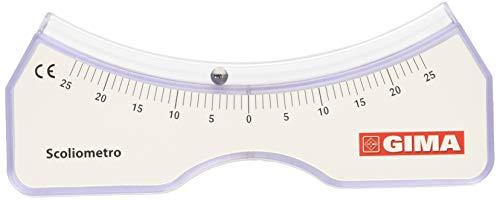 GIMA | Skoliomètre pour évaluer la scoliose, déviation de la colonne vertébrale sur le côté...