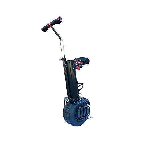 Single-Wheeled Motorcycle Elektro-Einrad 10 Zoll - 500W Einziger Elektrischer Einrad, Einrad, Self-Balancing Stützrad Mit 500 Motor, Last 110 Kg 2020 (Size : 45KM)