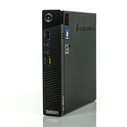 Lenovo Mini PC Desktop Computer ThinkCentre M93p USDT Tiny Intel Core i5 240GB SSD (NEU) Festplatte 8GB Win 10 Pro W-LAN 10AAA0PQ00 (Generalüberholt)