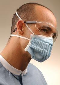4305468 PT# GPRN95 PTiculate Respirator Blu/Wht 28/Bx by, Crosstex International -4305468