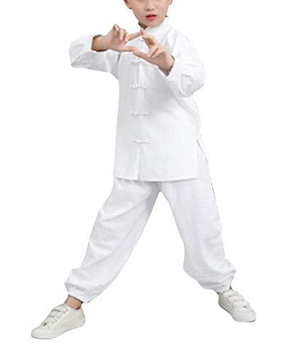 Garçon Fille Tenue De Boucle Vêtements De Tai Chi Kung Fu Et