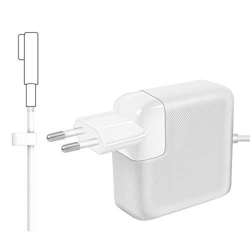 Compatibile con MacBook Pro Alimentatore 60W MagSafe 1 Magnetico Caricabatterie, per MacBook Pro 13 pollici con connettore a'L', Dalla fine del 2009