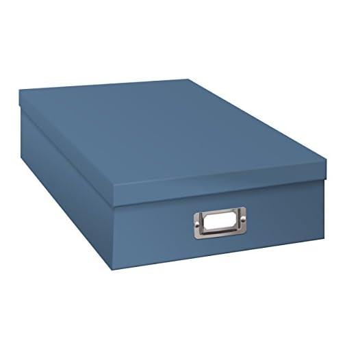 Pioneer Jumbo Scrapbook Storage Box, Sky Blue |