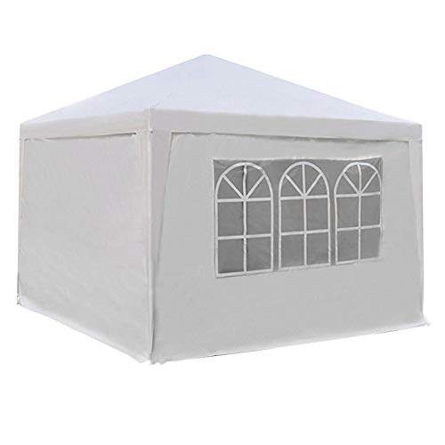 CXD Pavilions Partytent steel construction with side walls waterproof, marquee gazebo awnings bierzelt garden wedding market Rimini protective side window parts,1