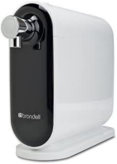 Brondell H630 H2O+ Cypress Countertop Water Filter System, 11.5x11x4.25, White/Black