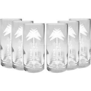 Afri Cola Gläser Set - 6x 0,2L geeicht