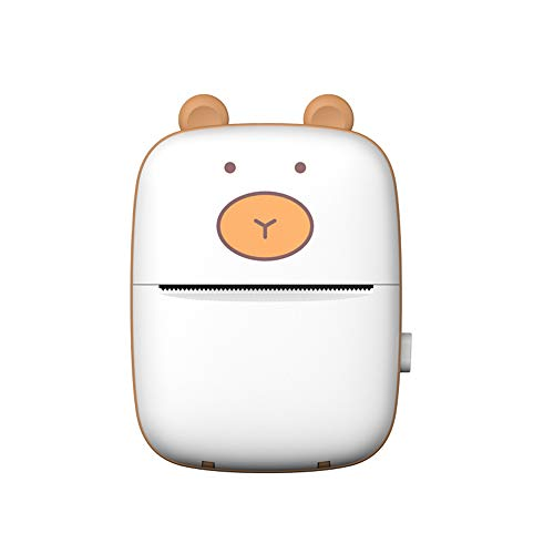 Sazoley Smart Pocket Mini Impresora HD Portátil BT Conexión Impresora inalámbrica Bolsillo...