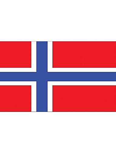 "TrendClub100® Fahne Flagge ""Norwegen Norway NO"" - 150x90 cm / 90x150cm"