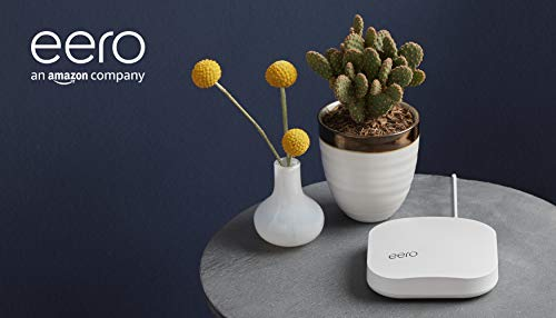 Amazon eero Pro mesh WiFi system (1 Pro + 2 Beacons) 19 Whole-home WiFi system - The Amazon eero Pro mesh WiFi system (3 eero Pros) replaces the traditional WiFi router, WiFi extender, and internet booster by covering a 5+ bedroom home with fast and reliable internet powered by a mesh network. eero 2nd generation - With the most intelligent mesh WiFi technology and powerful hardware, the eero 2nd generation WiFi system is 2x as fast as the original eero WiFi. Backwards compatible with 1st generation eero products. Cutting edge home WiFi - Unlike the common internet routers and wireless access points, eero automatically updates once a month, always keeping your home WiFi system on the cutting edge.