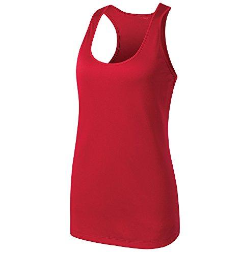 Opna Racerback Tank Tops for Women Moisture Wicking Workout Shirt Sizes XS-4XL RED-M