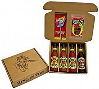 Ring Of Fire Hot Sauce Gift Set
