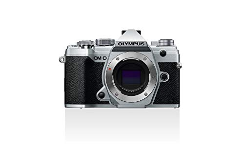Carcasa de la cámara Olympus OM-D E-M5 Mark III Micro Four Thirds, sensor de 20 Mpx, estabilizador de imagen de 5 ejes, potente autoenfoque, visor electrónico OLED, vídeo 4K, WLAN, Bluetooth, plata