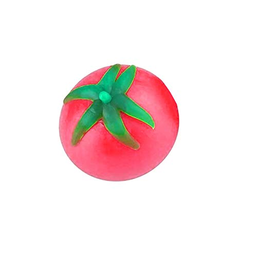 Funky Tomato Splat Ball Squishy Toys   Stress Relief Tomato Balls Fun Toy for Children   Anxiety Reducer Sensory Play   Tension Relief for Adults & Help for Autism & ADHD (1PC)