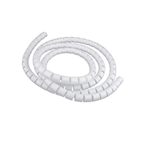 Organizador de Cable Tubo Flexible en Espiral Evuelto para Agrupar Cable Diámetro...