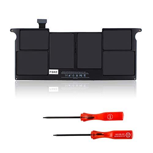 "FSKE® A1406 Batería del Ordenador Portátil para Macbook Air 11"" A1370 MC968 MC969 y A1465 (Medio 2012 Medio 2013 Temprano 2014) MD223 MD224 MD711 MD712 A1495 [Li-Polymer 7.6V 5200mAh]"