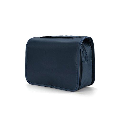 DCRYWRX Cosmétique Sacs Multifonctionnel Portable Cosmétiques Femmes Maquillage Kit De Voyage De Stockage De Masse Organisateur Sacs,Blue