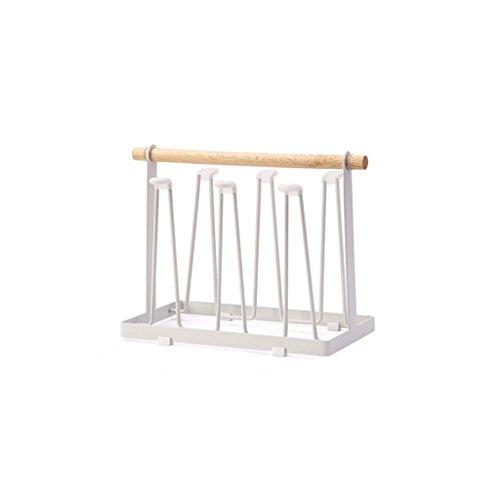 Étagère Lingyun Porte-gobelet en métal ➫ Plateau à fruits ❀ Fournitures de cuisine ❁ Tablette métallique multifonctionnelle ❀ Tablette à plateaux ❁ Panier de vidange pour tasse