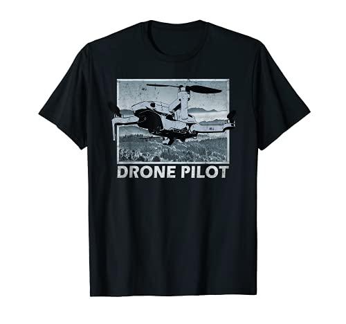 Drohne Pilot über Berge Mini Pro...