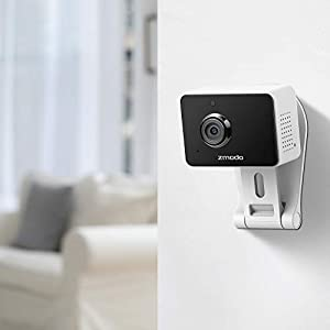 Zmodo Mini WiFi Camera, Video Baby Monitor with Camera and Audio, 1080p Wireless Security Camera, Two-Way Audio, 4 Pack